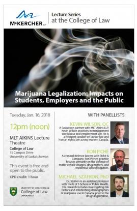 McKercher Lecture Series Marijuana JAN 2018